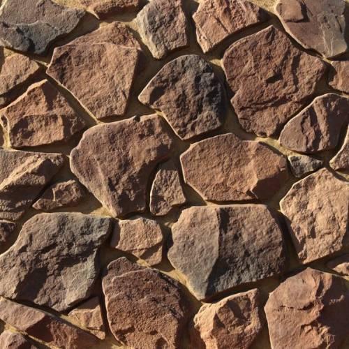 как правильно клеить декоративный камень