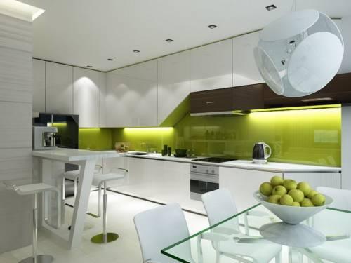 Кухня 9 м интерьер